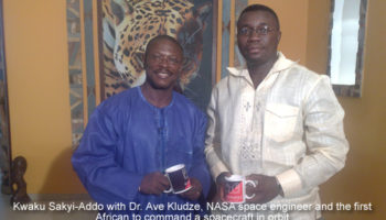 Dr. Ave Kludze NASA space engineer and the first African to command a spacecraft in orbit