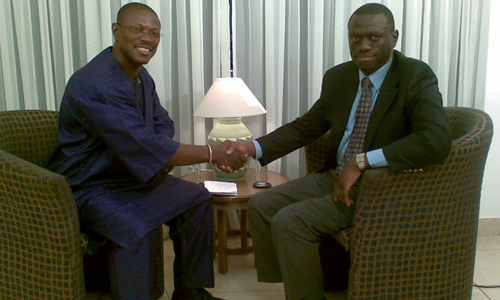 Dr. Kizza Besigye Uganda-s opposition Leader on Kwaku One-on-One on 18th May 2008