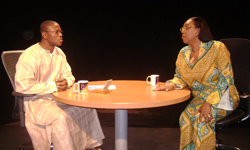 Mrs. Betty Mould-Iddrissu Legal Affairs Director Commonwealth Secretariat London – with Kwaku on Kwaku One-on-One on Sun 27th July 2008